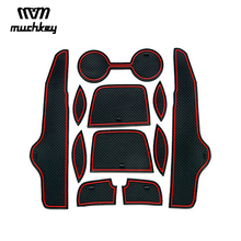 For Toyota Corolla 2007 2008 2009 2010 2011 2012 2013 Non-slip Rubber Cup Holder Sticker Gate Slot Pad Door Groove Mat styling anti slip non slip rubber decorative cup holder sticker gate slot pad door groove mat for kia sportage r 2018 2019 car styling