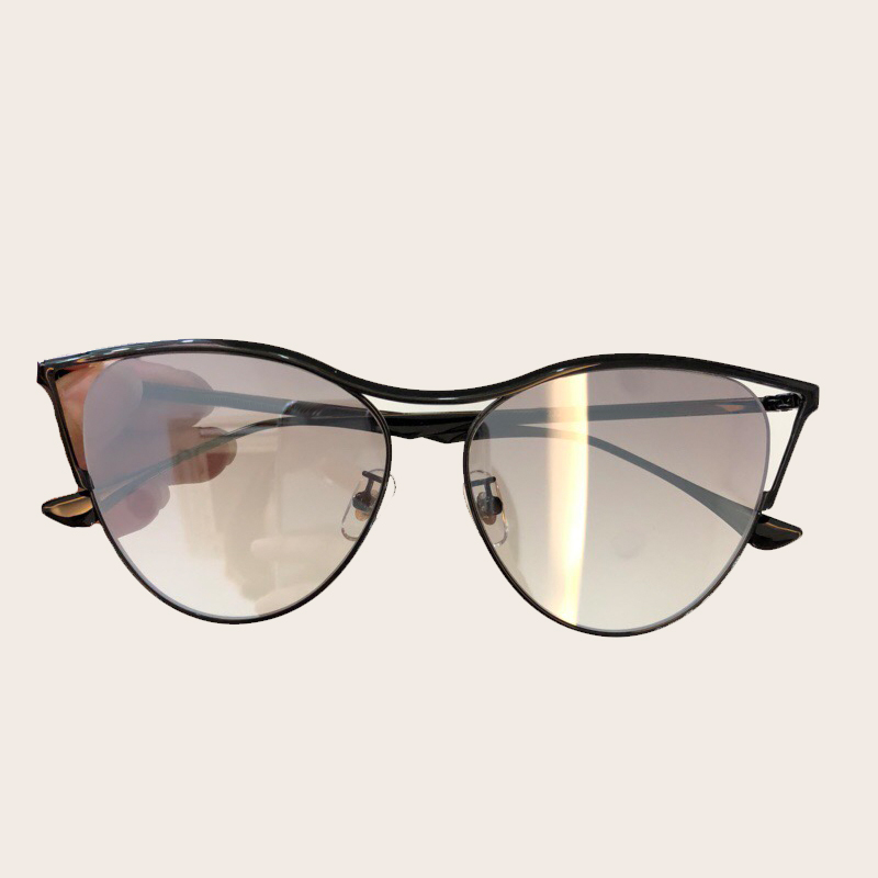 цены Alloy Frame Cat Eye Sunglasses Women Brand Designer High Quality Female Sun Glasses 2018 New Fashion Gradient Lens Oculos De Sol