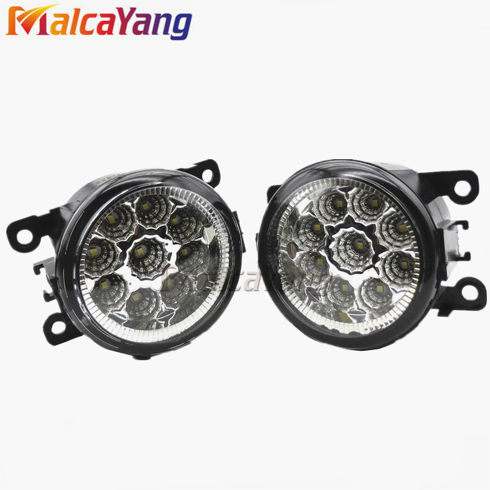 Car styling LED Fog lights halogen lamps 620639 620662 6206E1 For Citroen C3 C4 C5 C6 C-Crosser JUMPY Xsara Picasso 2004-2012 citroen jumpy ii 2007 carbon