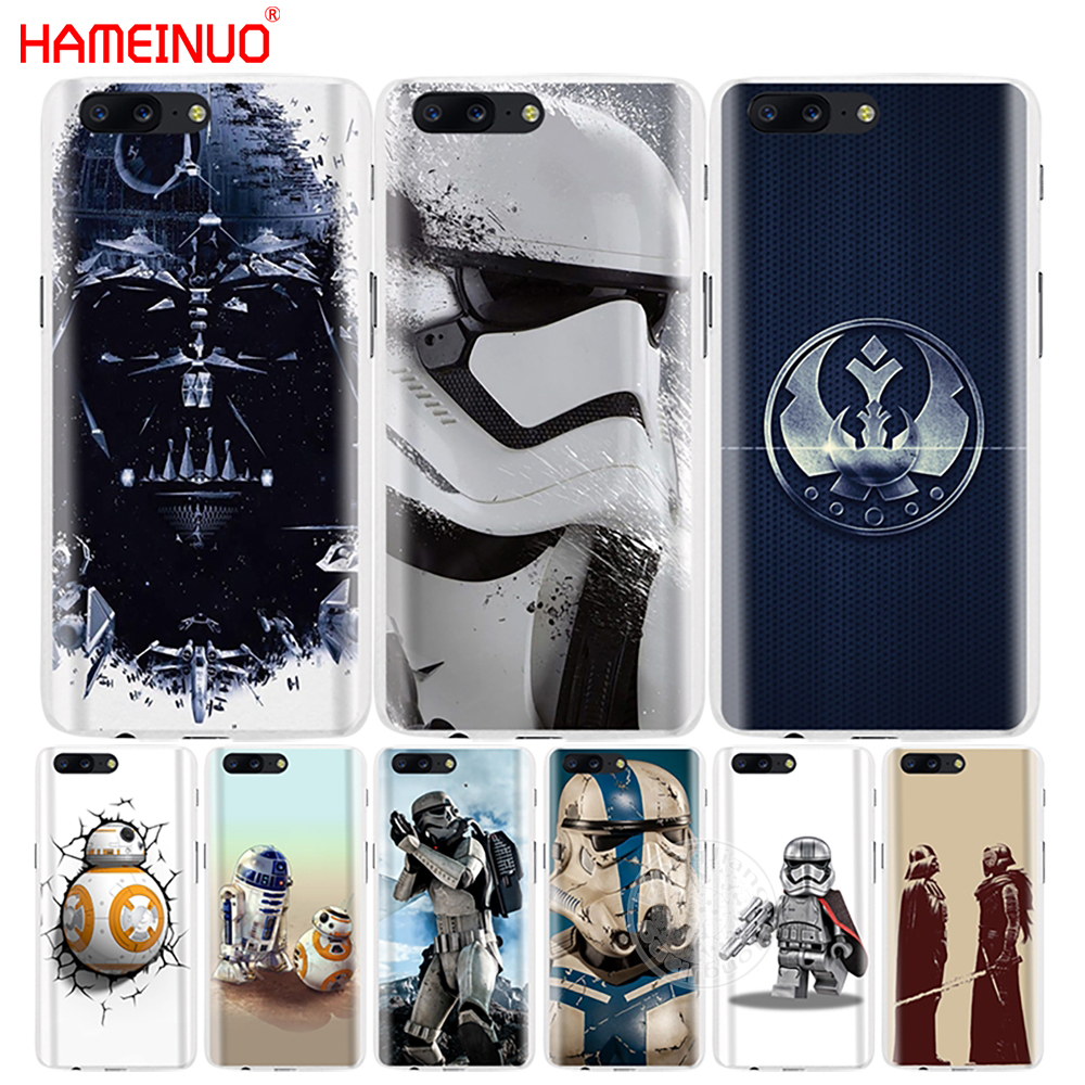 HAMEINUO star wars R2D2 darth vader Stormtrooper fett cover phone case for Oneplus one plus 5T 5 3 3t 2 X A3000 A5000