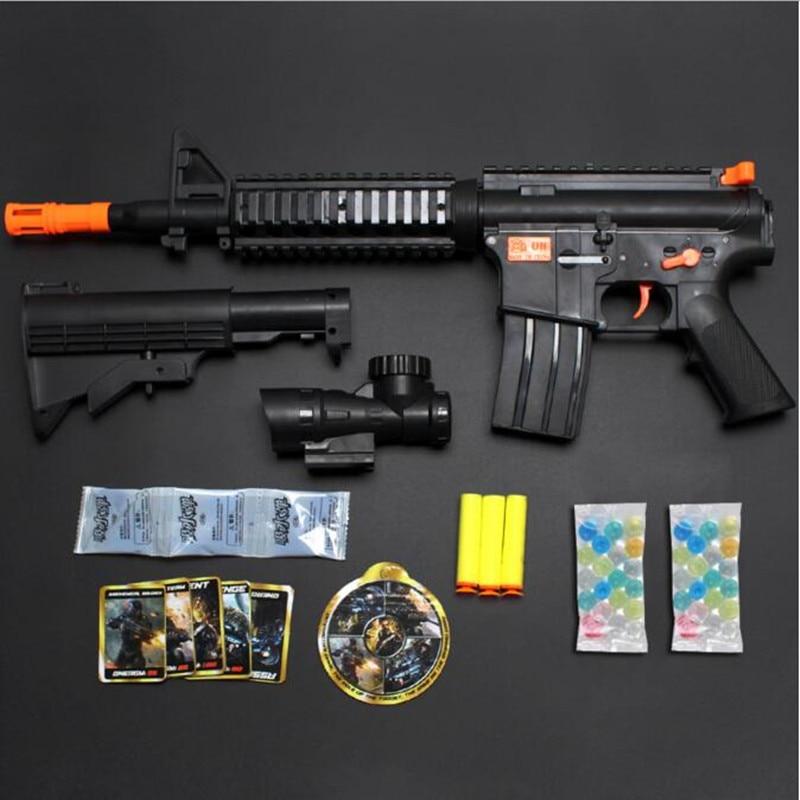4pcs Airsoft Air Guns/lot Mini 10cm Army Toy Pistol Gun Model