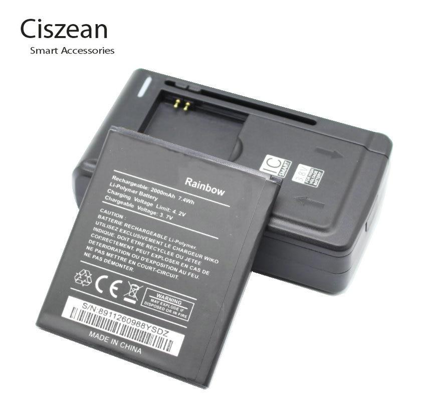 Capacidad 2000mAh Bateria para Wiko Rainbow Calidad Garantizada