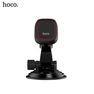 Image 5 - HOOC Car Magnetic Phone Holder Dashboard Windshield 360 Rotation Car Phone Holder for iphone X Samsung oneplus 6 huawei p20 lit
