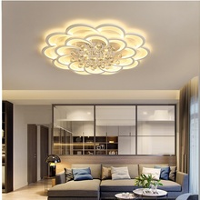 led crystal ceiling chandelier Lights luxury lotus for living Room dining room kitchen bedroom lamp art deco lighting fixtures european style luxury 6 lights led chandelier crystal home ceiling fixture pendant lamp lighting dining room bedroom living room