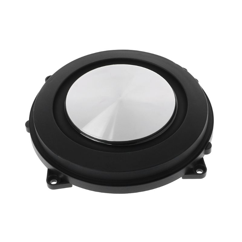 2 pièces passif radiateur 120mm Woofer haut-parleur auxiliaire basse Membrane Vibration bricolage accessoires