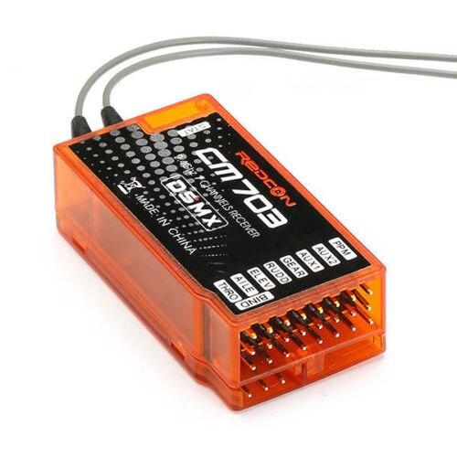CM703 Récepteur Avec PPM Sortie Redcon Compatible Spektrum 2.4g 7ch Dsm2/Dsmx RC Radio contrôleur