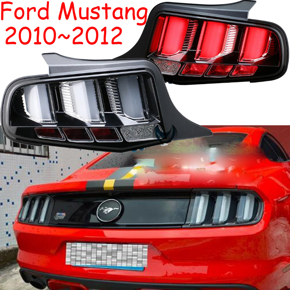 car accessories,Mustang taillight,LED,2010~2012,Free ship!Mustang rear light,Ecosport,Kuga,Edge,motorcycle,Mustang fog light led 2012 2015 kuga day light kuga fog light kuga headlight transit explorer topaz edge taurus fusion kuga taillight