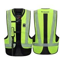 DUHAN Motorcycle Jacket Air-bag Vest Motorcycle Vest Air Bag