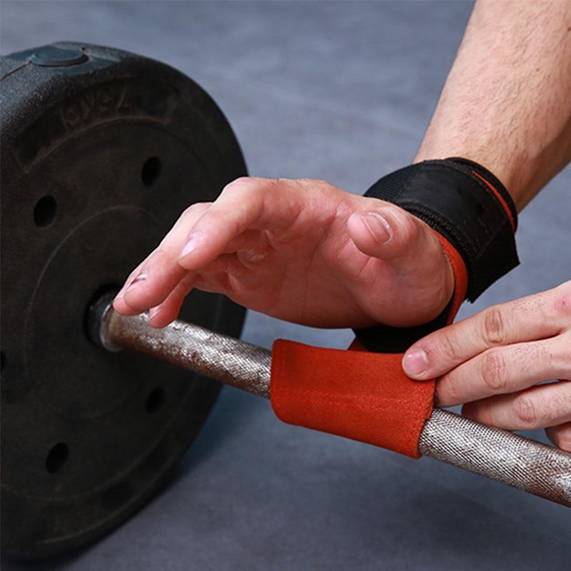Grips Weight Lifting Gloves Heavy Duty Straps Alternative Power Lifting Hooks Deadlifts Adjustable Neoprene Padded Wrist