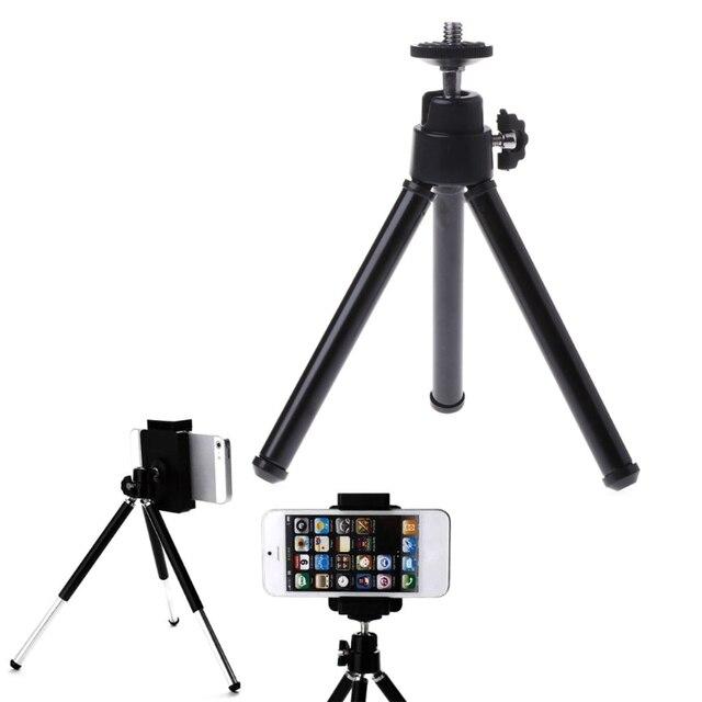 Black/white Universal Mini Portable Tripod Holder Stand for Canon Nikon Camera Camcorder New