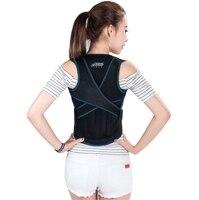 New Shoulder Support Back Care Posture Corrector Adjustable Clavicle Strap Improve Prevent Dorsal spine correction belt for Wome