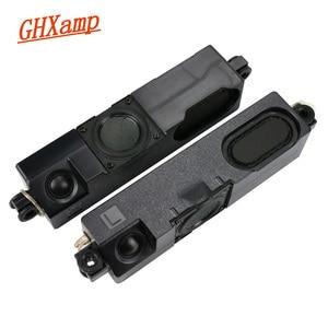 Image 1 - GHXAMP ТВ динамик аудио 2 полосный динамик высококлассный полный диапазон динамик 8 Ом 10 Вт пассивный динамик класса А ТВ Аудио 1 пара