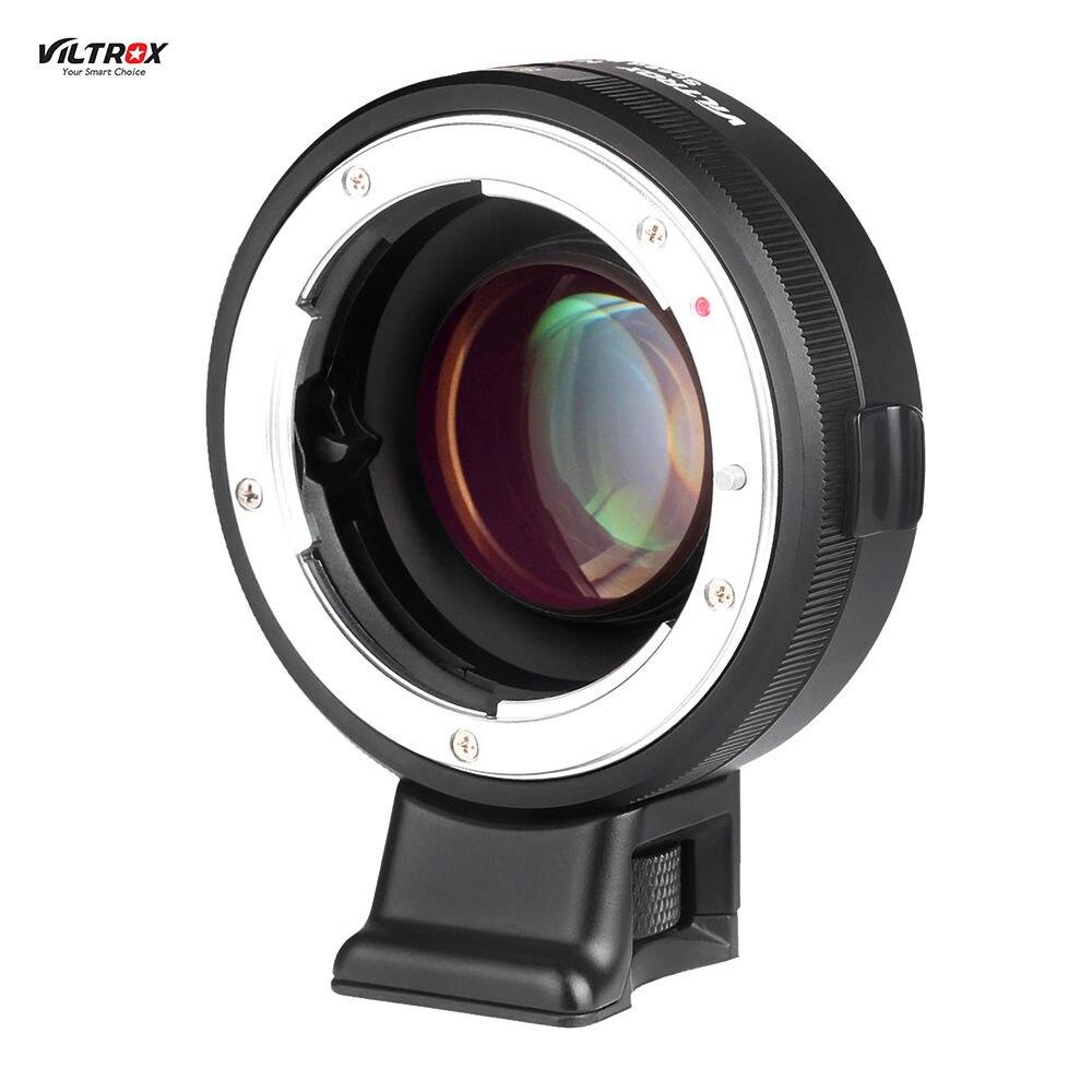 VILTROX NF-E Manuel-focus F Monture Adaptateur Telecompressor Focal Réducteur Vitesse Booster pour Sony NEX e-mount caméra