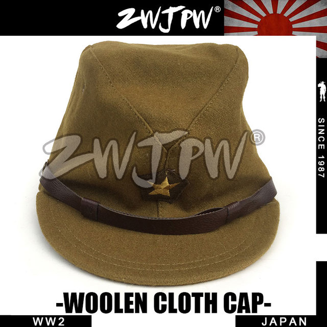 c0be03c0d5b WW2 WWII JAPANESE ARMY IJA OFFICER FIELD WOOL CAP HAT IJA OFFICER CAP JP  40103