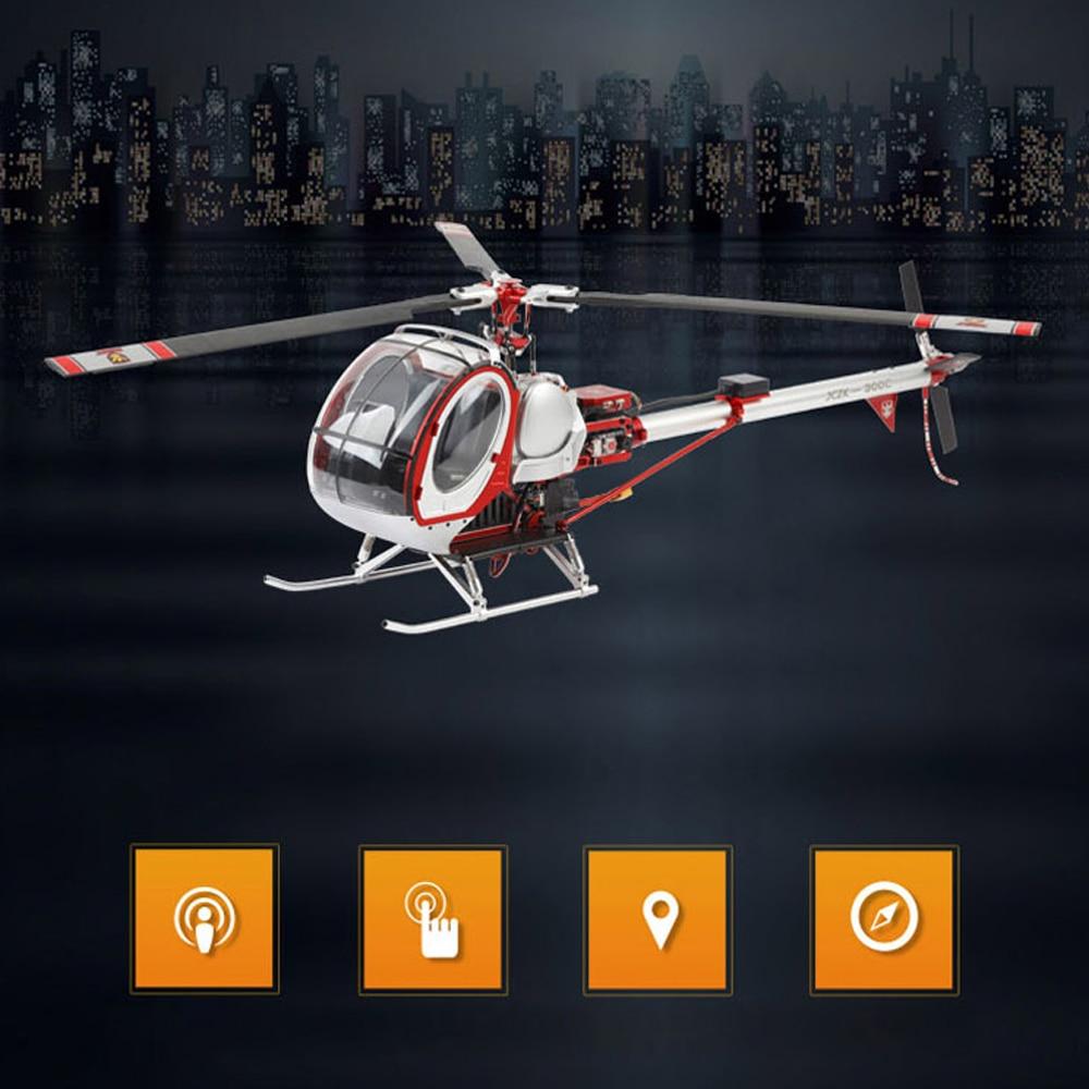 SCHWEIZER 300C Hughes Smart 6CH RC вертолет gps RTF пульт дистанционного управления Вертолет Металл Высокая симуляция самолета RC модель игрушки - 5