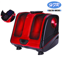 HFR-8812 electric slim full beg and foot compression warmer pain circulation air pressure leg massager hot legs feet massage