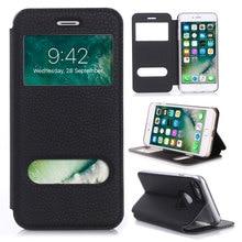Чехол для Apple iPhone 7/7 плюс роскошный искусственная кожа флип Бумажник чехол с подставкой Капа телефон случаях 4.7 дюйма и 5.5 дюймов