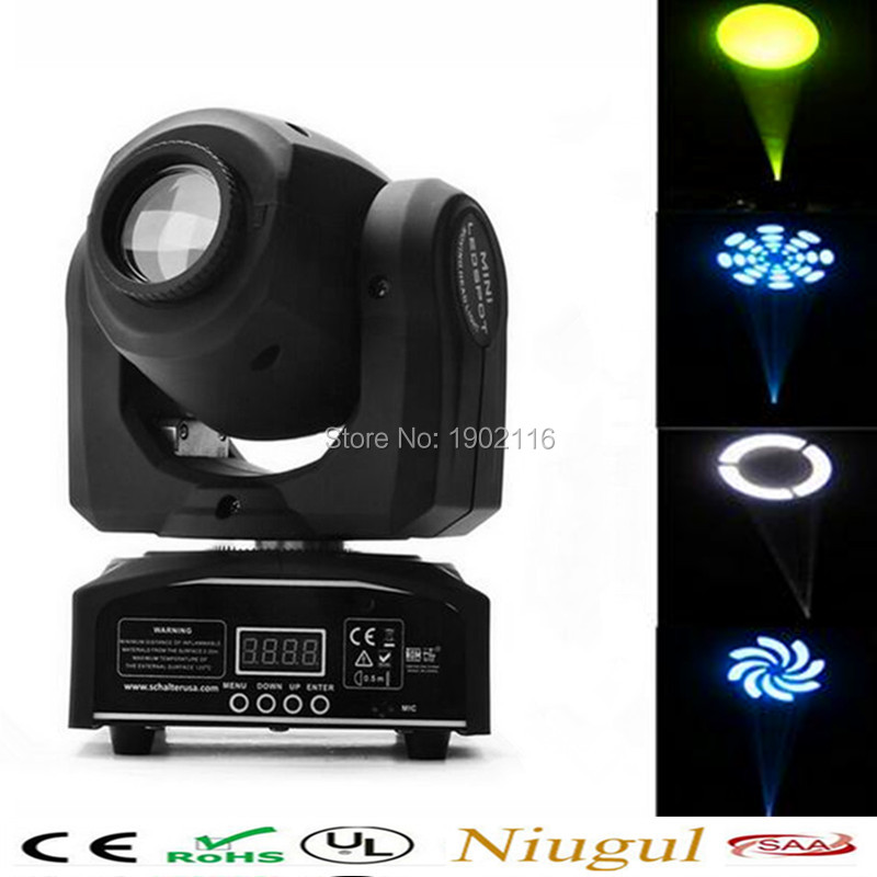 30W patterns Light Led dmx stage lighting effect/30w led spot moving head/disco dj lighting/LED gobo lamp With Free shipping 2pcs lot 10w spot moving head light dmx effect stage light disco dj lighting 10w led patterns light for ktv bar club design lamp