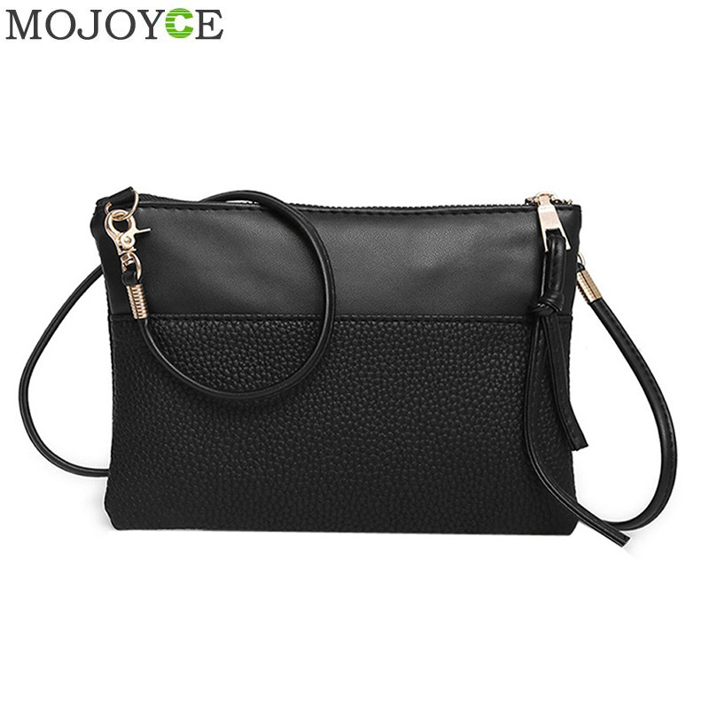 New PU Leather Women Small Messenger Bag Sling Shoulder Bags Fashion Female Shoulder Bags Women Mini Clutch Handbags