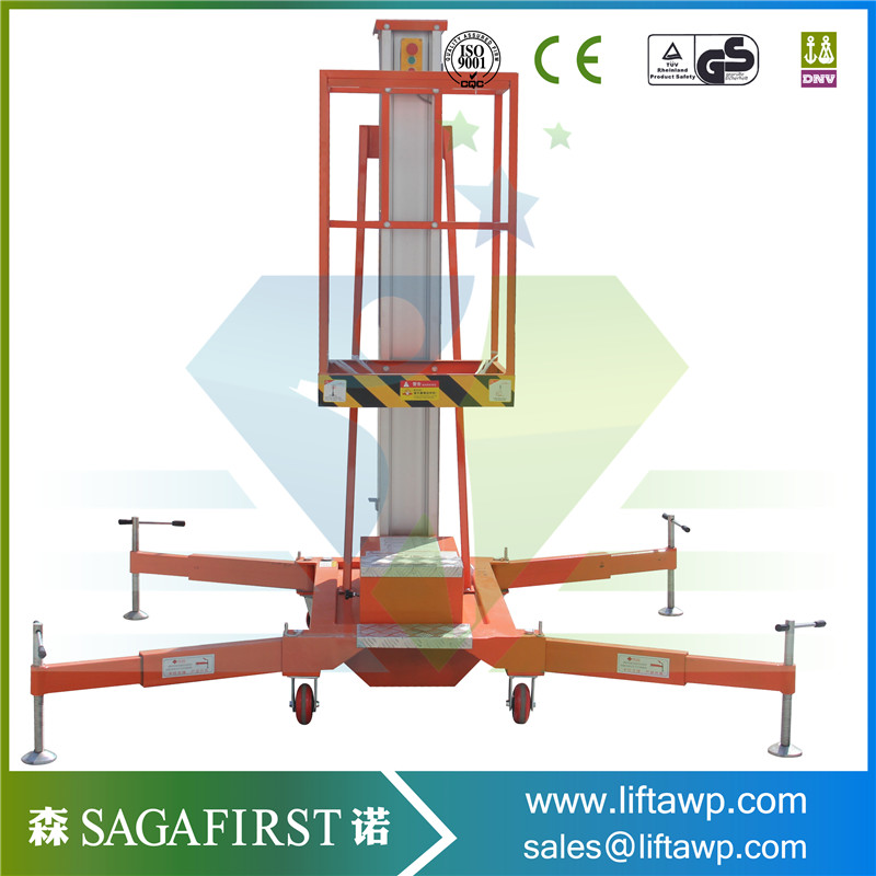 Eectric Hydraulic Trailing Towable One Man Lift