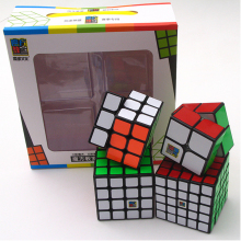 Best Birthday Gift 4PCS/Set 2x2x2 3x3x3 4x4x4 5x5x5 Stickerless Magic Cube set Puzzle Boys 2*2*2 3*3*3 4*4*4 5*5*5 Moyu Cubes