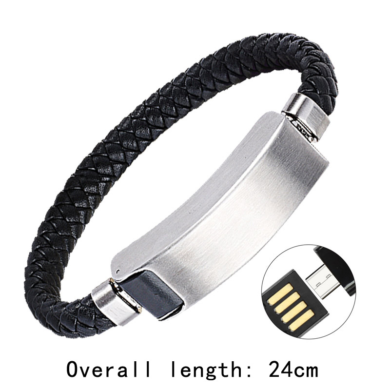Sports bracelet <font><b>usb</b></font> <font><b>charger</b></font> for phone cable data line adapter charging wire portable mobile charge for iphone X <font><b>5</b></font> 6 7 8 samsung image