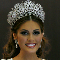 Luxury Large high quality full circle crown pageant miss world rhinestone round full tiara crown various color crown for women