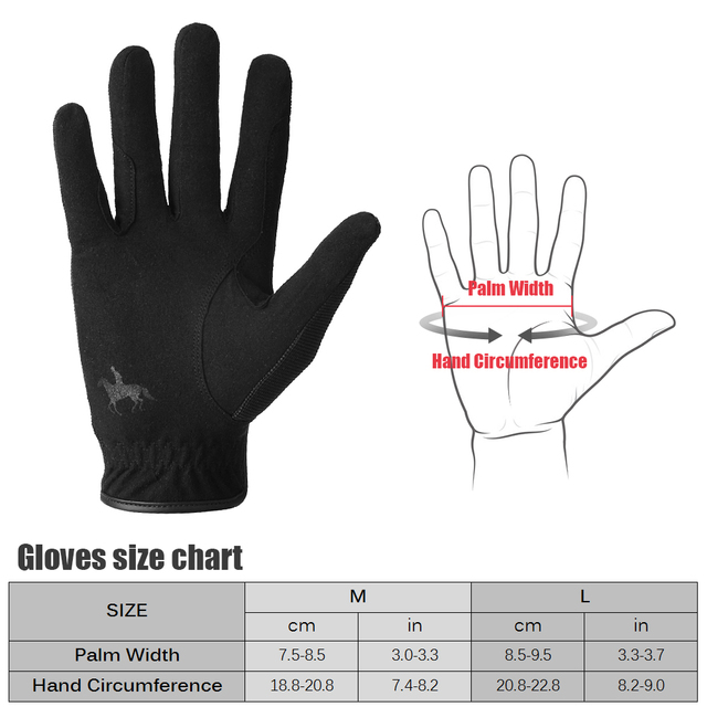 Professional Horseback Riding Gloves For Men or Women Equestrian Activity  6