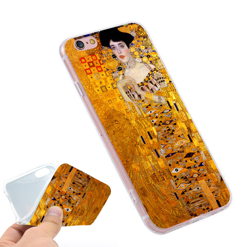 Yinuoda Van Gogh Oil Painting Novelty Fundas Phone Case Cover For Iphone 8 7 6 6s Plus 5 5s Se Xr X Xs Max Coque Shell Comfortable Feel Phone Bags & Cases Half-wrapped Case