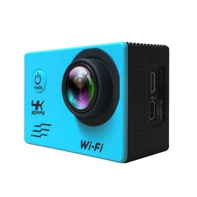 10 sztuk/partia Action Camera 4 K Ultra HD WIFI styl 1080 P/30fps 2.0 LCD 170 obiektyw nurkowanie wodoodporna 30 M DV kask Cam kamera sportowa