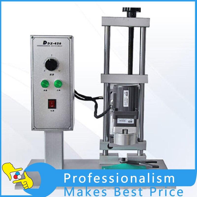 DDX-450 Desktop Electric Bottle Capping Machine Round Bottle Cap Screwing Machine 220V / 110V kenwood ddx 5015btr