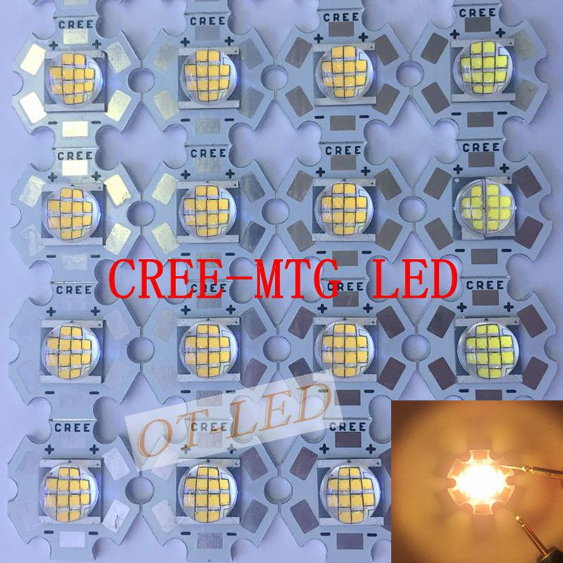 Cree MT-G MTG LED EasyWhite 18W~24W 3000K/5000K DC36V/6V LED Light for spot light on 20MM star PCB джинсы g star g star gs001ewdxw28
