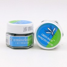 13g Thai Ointment Muscle ache Refreshing Oils Headache Dizziness Repellent Anti-mosquito Itching Swelling Green Balm
