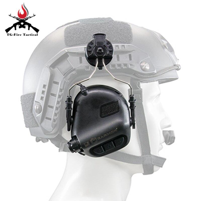 OPSMAN EARMOR HeadSet RAC Trilhos Acessório Adaptador
