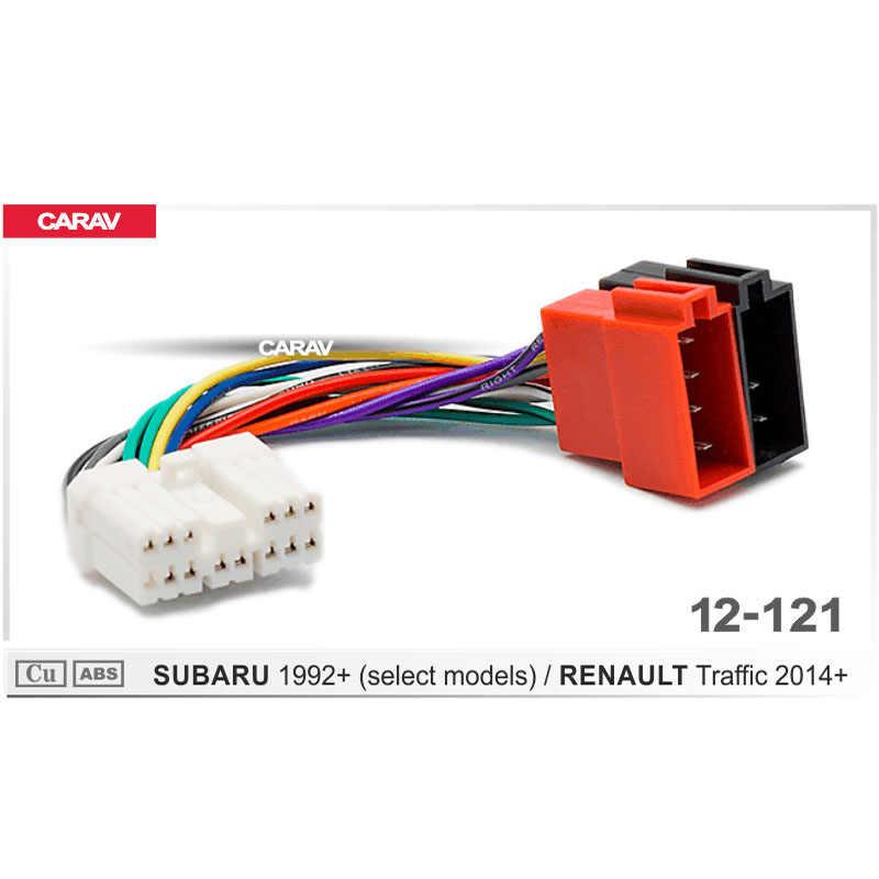 CARAV 12 121 ISO Radio Adapter for SUBARU for RENAULT Traffic Wiring  Harness Connector Lead Loom Cable Plug Adaptor Stereo|radio adapter for car| radio adaptercar radio adapter - AliExpresswww.aliexpress.com