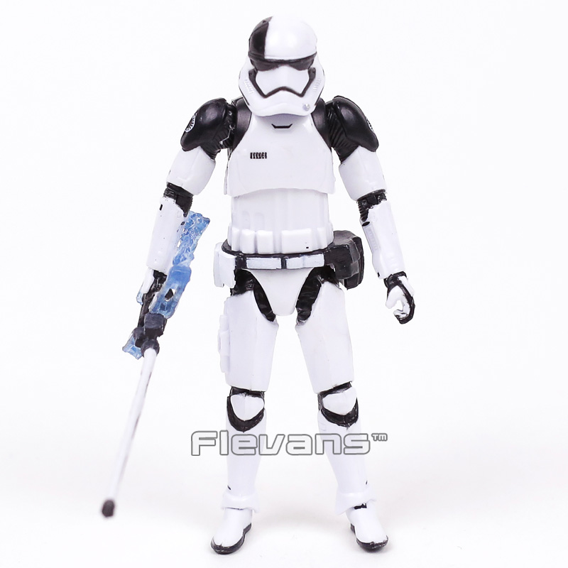 Star Wars 8 The Last Jedi Stormtrooper First Order Executioner PVC Action Figure Collectible Model Toy 10cm games illidan 14 pvc action figure collectible model toy 4 10cm kt2242