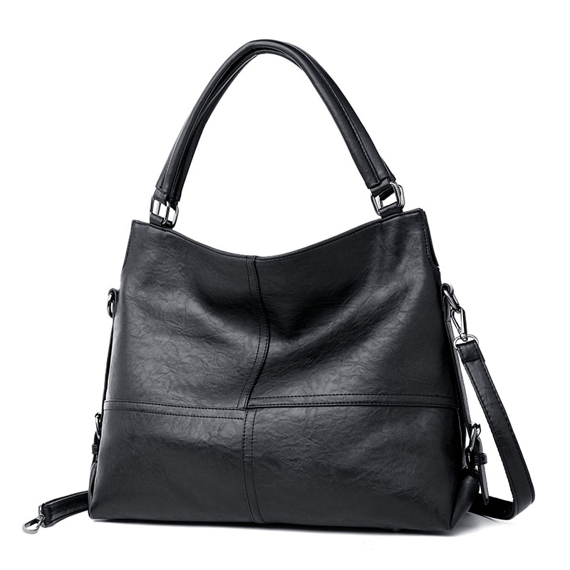 Crossbody For Women Handbag Soft Leather Female Shoulder Bag Hobos Luxury Top-Handle Bags