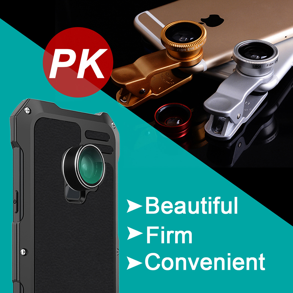 Ascromy For Galaxy S9 Lens Kit Case Fisheye Macro Wide Angle Shockproof Aluminum Cover For Samsung S8 Plus S7 edge Accessories (9)