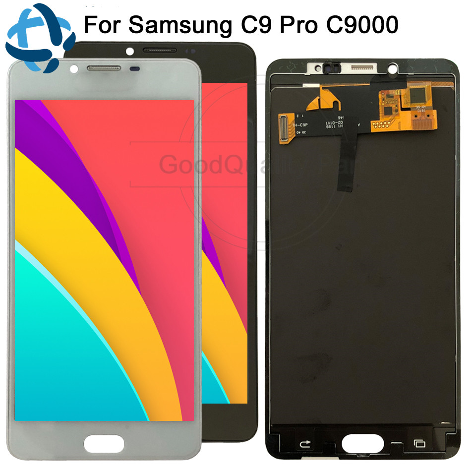 6 0 Test good For SAMSUNG GALAXY C9 Pro LCD C9000 Display Touch Screen Digitizer Assembly