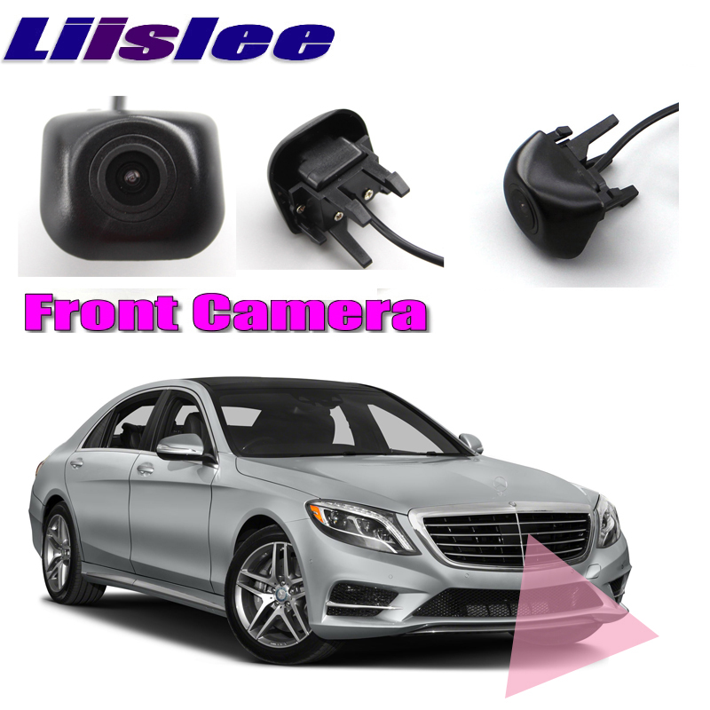 LiisLee Car Front Camera Front Grille CAM For Mercedes