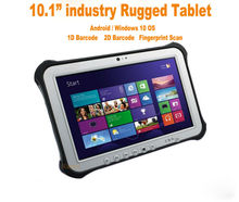10.1″ Industrial Rugged Tablet PC Windows 10 Waterproof phone NFC Reader 1D 2D Laser Barcode Scanner 4G Android Min Computer PC