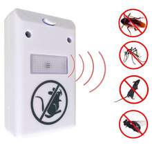 US Plug Electronic Ultrasonic Rat Mouse Mice Repellent Rodent Pest Bug Reject Mole Mosquito Cockroaches Repeller цена и фото