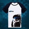 Black Rock Shooter T-Shirt BRS Short Sleeve Tee Shirt New 2017 Printed Cartoon Tshirts Free Shipping