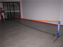 2014 New Arrival6.1*0.8m Portable And Adjustable Tennis Net With Stand