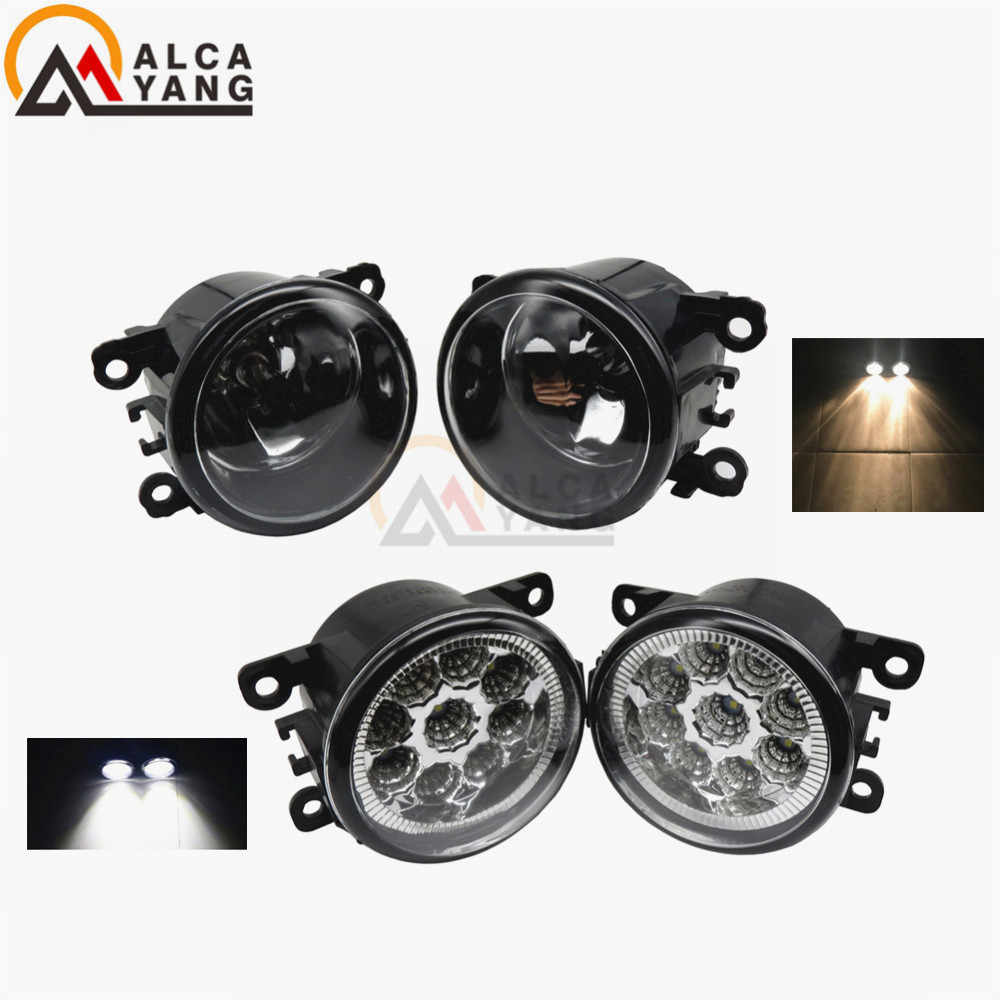 Angel Eyes Fog Lamp Assembly Super Bright Fog Light For Ford Focus MK2/3 Fusion Fiesta Tourneo Transit 2001-2015 Fog Lights 2pcs