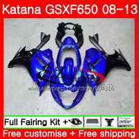 Stock blue Body For SUZUKI KATANA GSXF650 GSXF650 08 09 10 11 12 13 40SH13 650F GSX650F 2008 2009 2010 2011 2012 2013 Fairing