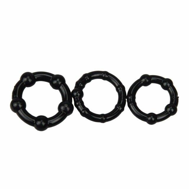 Beaded Penis Ring Set