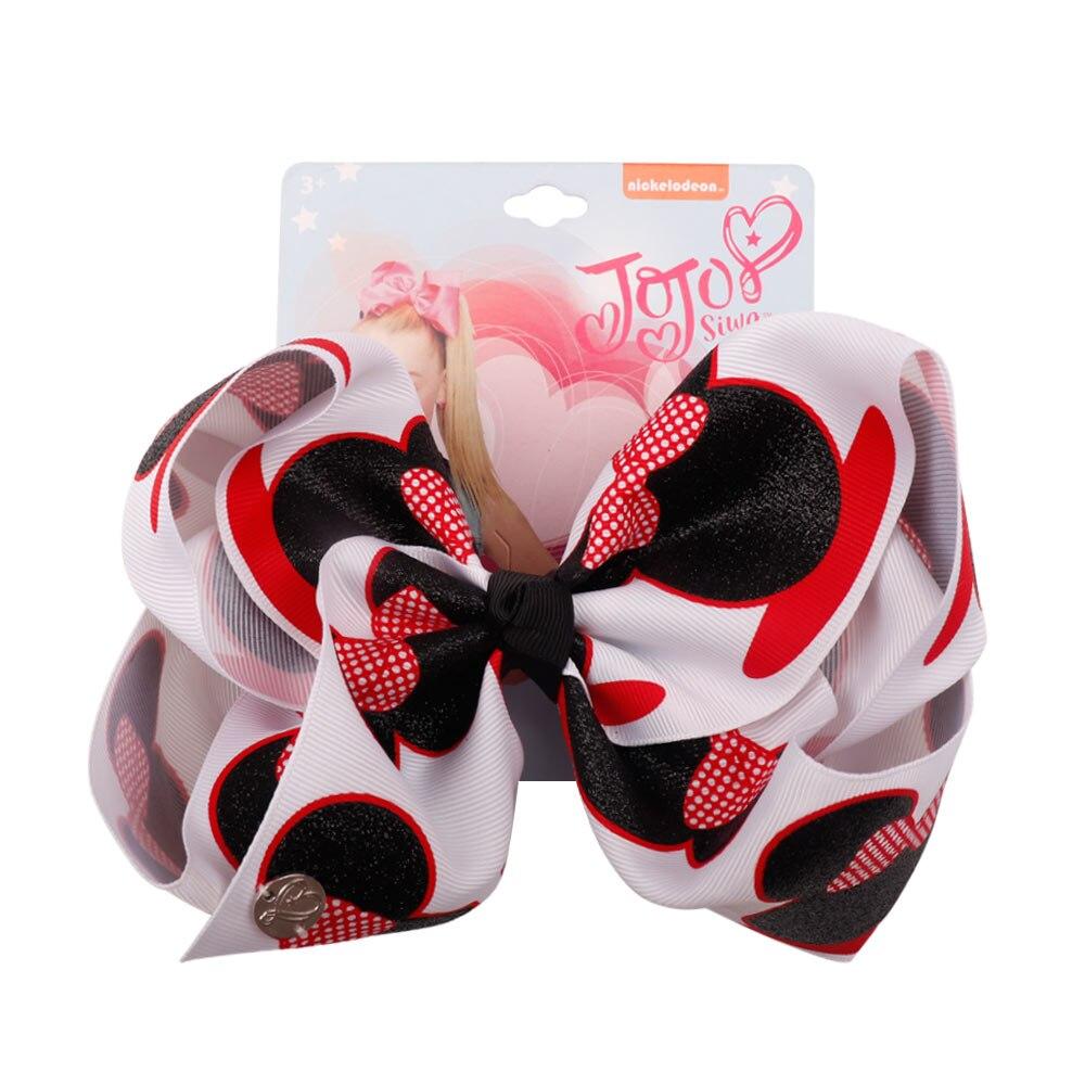 Oaoleer Hair Accessories Jojo Siwa Hair Bows For Girls Kids Hairgrips 7'' Unicorn Grosgrain Ribbon Hairpins JOJO BOWS