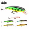 SeaKnight SK009 Minnow Lure 5PCS/Lot 8.5g 9cm 0.6-1.0M Artificial Minnow Hard Wobblers Fishing Lure Fishing Bait 3D Fish Eyes