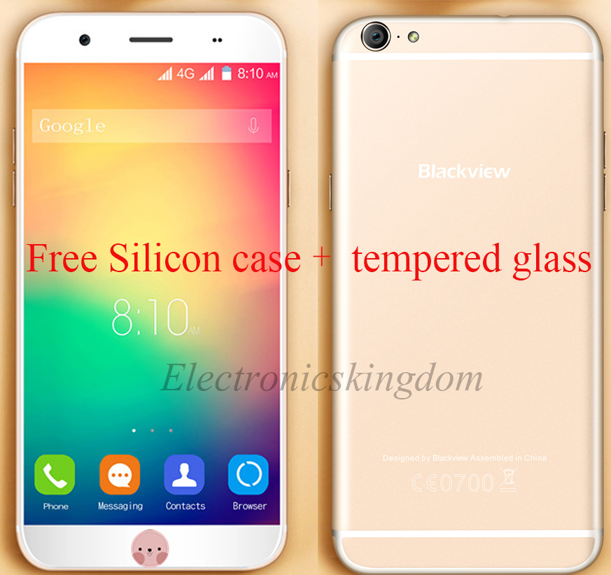 Original Blackview Ultra Plus 5 5 font b Smartphone b font MTK6735 Quad Core 2GB 16GB